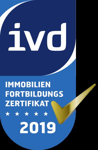 ivd Immobilien Fortbildungs Zertifikat 2019